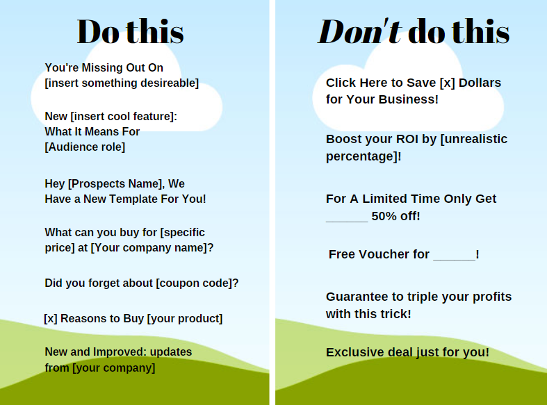 Email Marketing-Mini Blog Series Part 3–Subject Lines